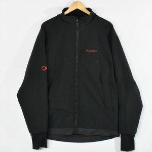 Mammut Men's Black Soft Shell Hooded Jacket Anorak